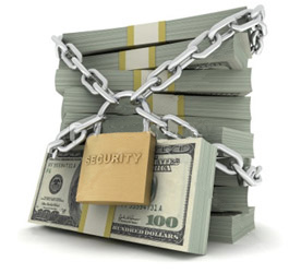 pic of secure money
